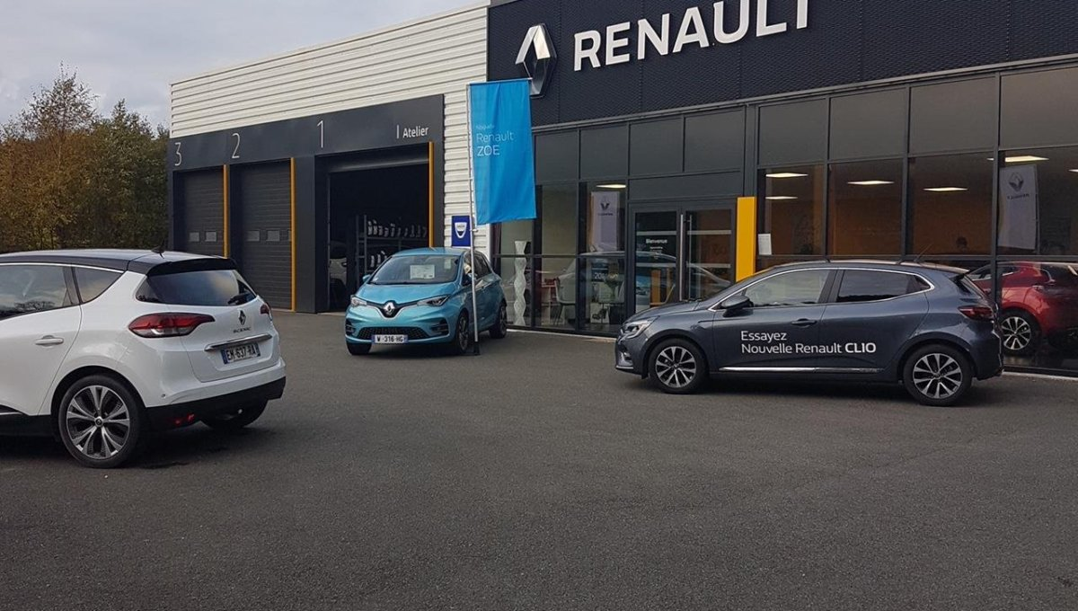 SECTEUR LANNION : GARAGE AUTOMOBILES ENSEIGNE Fonds De Commerce Vente